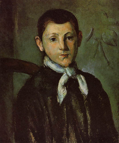 Paul Cézanne (Cezanne) - Portrait of Louis Guillaume