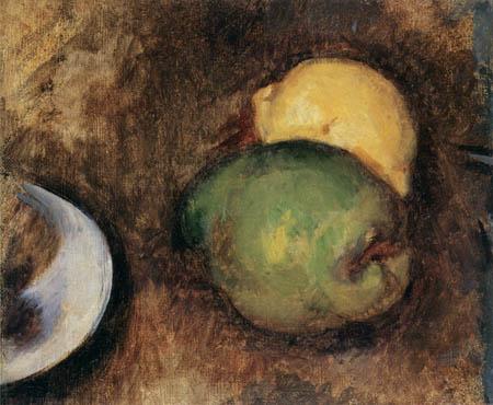 Paul Cézanne (Cezanne) - Zwei Früchte