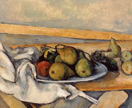 Paul Cézanne (Cezanne) - Stillleben mit Birnen