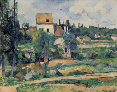 Paul Cézanne (Cezanne) - Mill near Couleuvre, Pontoise