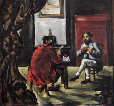 Paul Cézanne (Cezanne) - Paul Alexis bei Zola