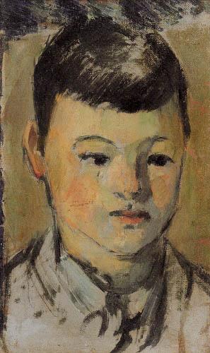 Paul Cézanne (Cezanne) - Porträt des Sohnes
