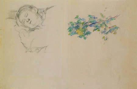 Paul Cézanne (Cezanne) - Madame Cezanne
