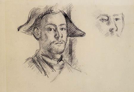 Paul Cézanne (Cezanne) - Studien für Mardi Gras