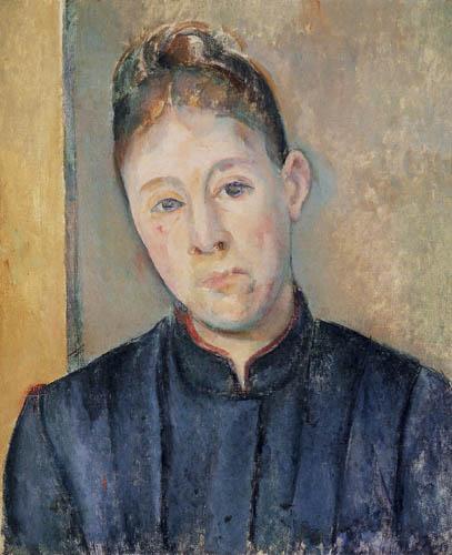Paul Cézanne (Cezanne) - Porträt Madame Cezanne