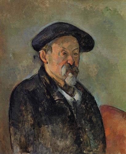 Paul Cézanne (Cezanne) - Selbstporträt