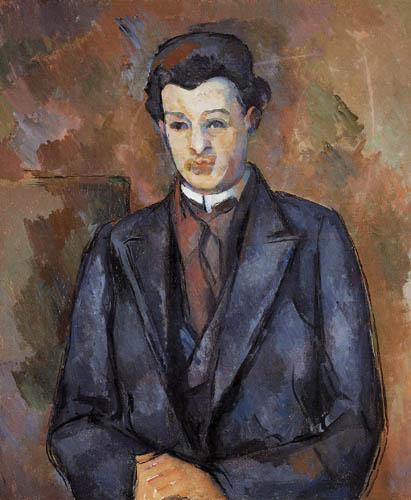 Paul Cézanne (Cezanne) - Porträt des Malers Alfred Hauge