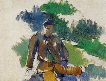 Paul Cézanne (Cezanne) - Sitzender Knabe
