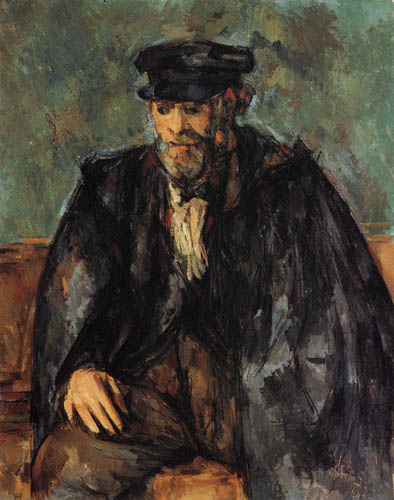 Paul Cézanne (Cezanne) - Vallier the gardener as a sailor