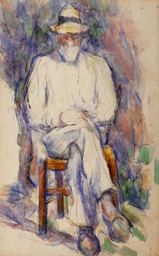 Paul Cézanne (Cezanne) - Vallier, der Gärtner