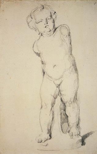 Paul Cézanne (Cezanne) - Gipsputto