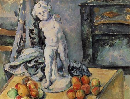 Paul Cézanne (Cezanne) - Stillleben mit Gipsputto