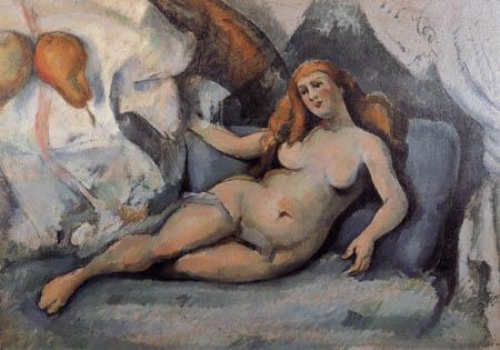 Paul Cézanne (Cezanne) - Akt
