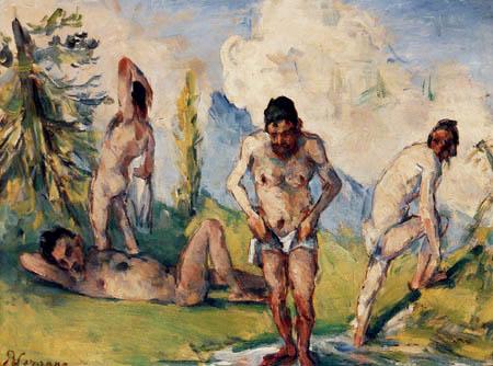 Paul Cézanne (Cezanne) - Bathers I
