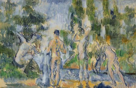 Paul Cézanne (Cezanne) - Badende
