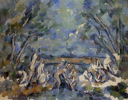 Paul Cézanne (Cezanne) - Bathers