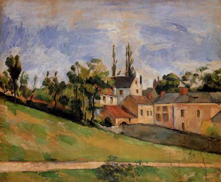 Paul Cézanne (Cezanne) - Der ansteigende Weg