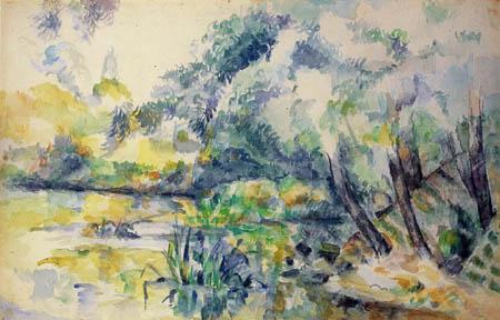 Paul Cézanne (Cezanne) - Sumpflandschaft