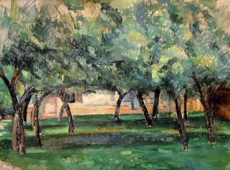 Paul Cézanne (Cezanne) - Gehöft in der Normandie