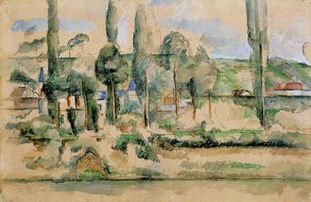 Paul Cézanne (Cezanne) - Schloß in Medan