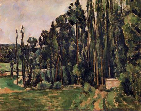 Paul Cézanne (Cezanne) - Pappeln