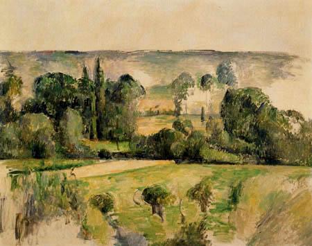 Paul Cézanne (Cezanne) - Hügellandschaft bei Medan