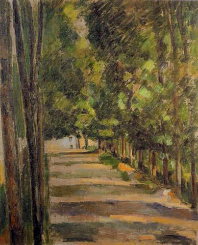 Paul Cézanne (Cezanne) - Allee