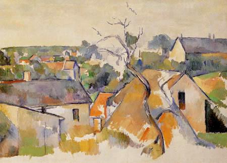 Paul Cézanne (Cezanne) - Dächer