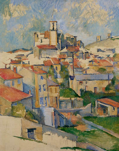 Paul Cézanne (Cezanne) - Gardanne