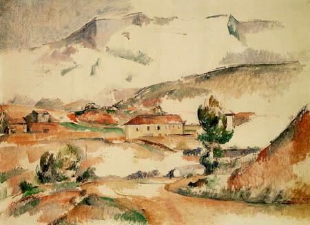Paul Cézanne (Cezanne) - Sainte Victoire bei Gardanne