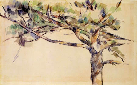 Paul Cézanne (Cezanne) - The large stone pine