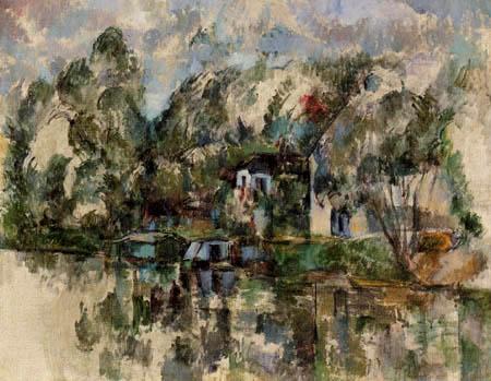 Paul Cézanne (Cezanne) - Ashore