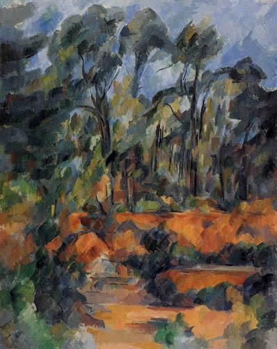 Paul Cézanne (Cezanne) - Forest