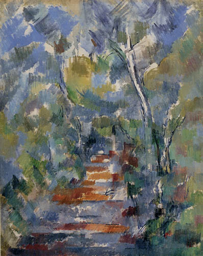 Paul Cézanne (Cezanne) - Forest way, Provence