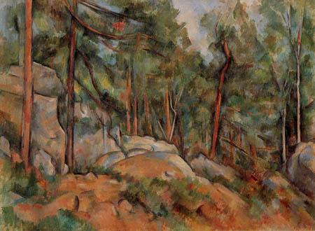 Paul Cézanne (Cezanne) - Wald