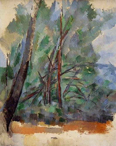 Paul Cézanne (Cezanne) - Bäume
