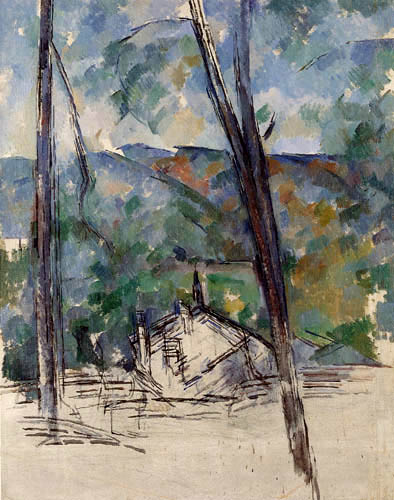 Paul Cézanne (Cezanne) - View of the road
