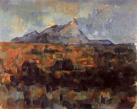 Paul Cézanne (Cezanne) - Montagne Sainte Victoire