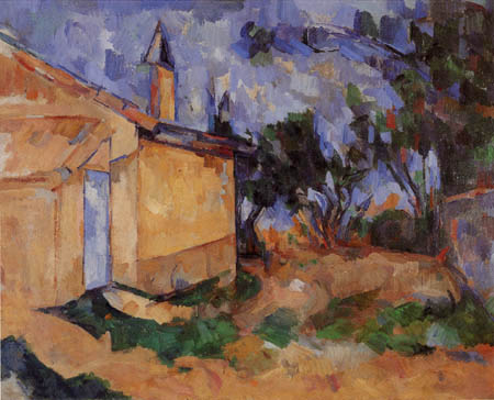 Paul Cézanne (Cezanne) - Jourdans Hütte