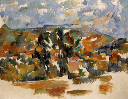Paul Cézanne (Cezanne) - Mont de Cengle