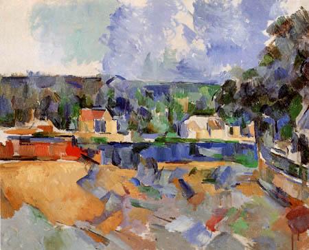 Paul Cézanne (Cezanne) - Flußufer