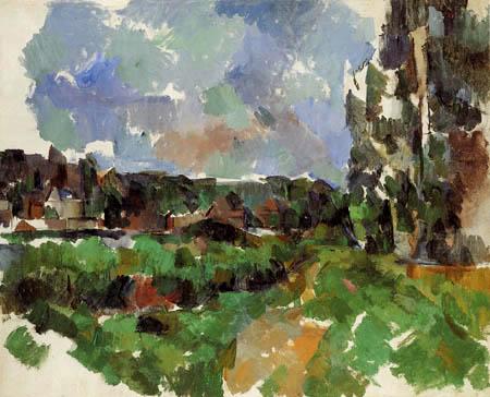 Paul Cézanne (Cezanne) - Uferlandschaft