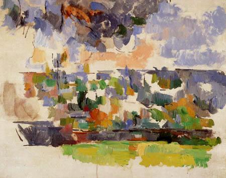 Paul Cézanne (Cezanne) - The Garden of les Lauves