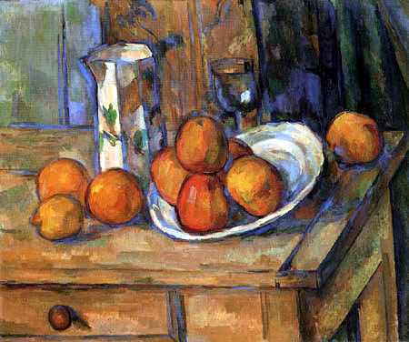 Paul Cézanne (Cezanne) - Still life with fruits