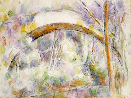 Paul Cézanne (Cezanne) - Le Pont des Trois Sautets