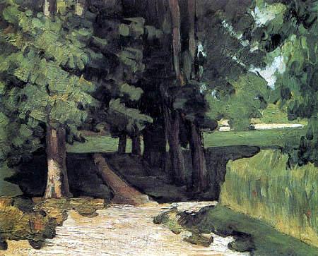 Paul Cézanne (Cezanne) - Allee im Jas de Bouffan