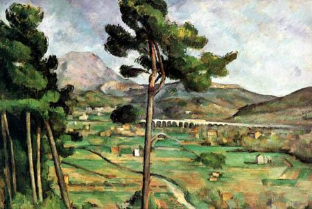 Paul Cézanne (Cezanne) - Mont Saint Victoire