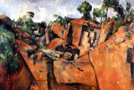 Paul Cézanne (Cezanne) - Der Steinbruch Bibémus