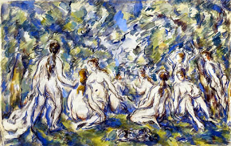 Paul Cézanne (Cezanne) - Bathing Women