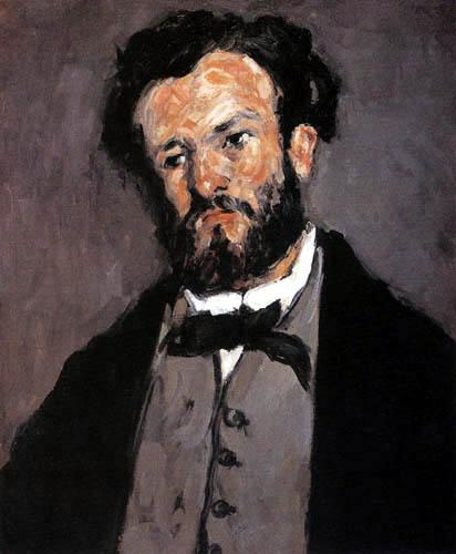 Paul Cézanne (Cezanne) - Portrait of Antony Valabrèque